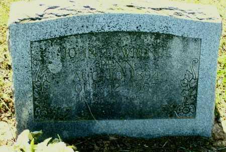PENN, JOHN LAWRENCE - Lawrence County, Arkansas   JOHN LAWRENCE PENN - Arkansas Gravestone Photos