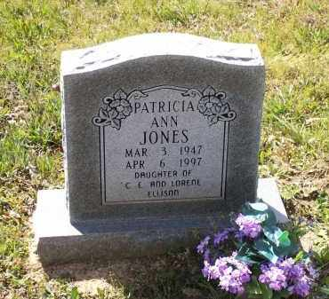 JONES, PATRICIA ANN ELLISON PENN - Lawrence County, Arkansas | PATRICIA ANN ELLISON PENN JONES - Arkansas Gravestone Photos