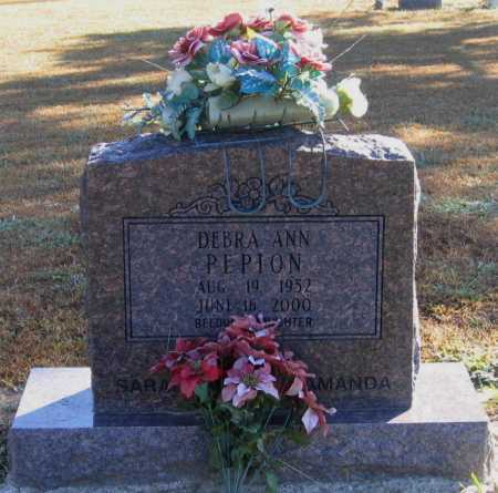 GOODMAN PEPION, DEBRA ANN - Lawrence County, Arkansas | DEBRA ANN GOODMAN PEPION - Arkansas Gravestone Photos