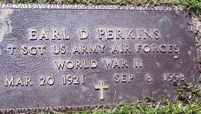 PERKINS (VETERAN WWII), EARL DEYLING - Lawrence County, Arkansas | EARL DEYLING PERKINS (VETERAN WWII) - Arkansas Gravestone Photos