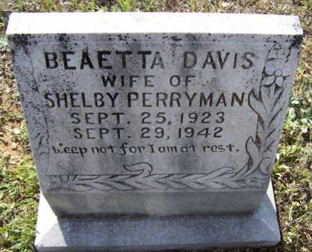 PERRYMAN, BEATTA RUTH - Lawrence County, Arkansas | BEATTA RUTH PERRYMAN - Arkansas Gravestone Photos