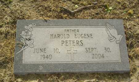 PETERS, HAROLD EUGENE - Lawrence County, Arkansas | HAROLD EUGENE PETERS - Arkansas Gravestone Photos