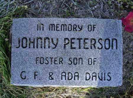 "PETERSON, JOHN ""JOHNNY"" - Lawrence County, Arkansas   JOHN ""JOHNNY"" PETERSON - Arkansas Gravestone Photos"