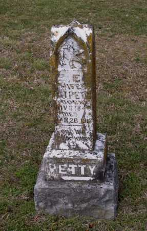 "PETTY, EVELINE E. ""E. E."" - Lawrence County, Arkansas 