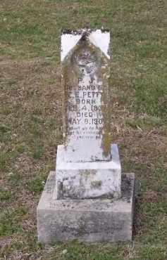 "PETTY (VETERAN CSA), PARK J. ""PINKEY"" - Lawrence County, Arkansas | PARK J. ""PINKEY"" PETTY (VETERAN CSA) - Arkansas Gravestone Photos"