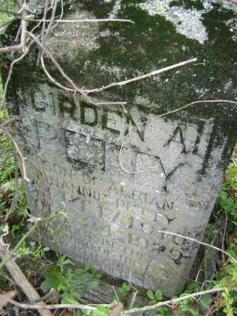 PETTY, GIRDEN A. - Lawrence County, Arkansas | GIRDEN A. PETTY - Arkansas Gravestone Photos