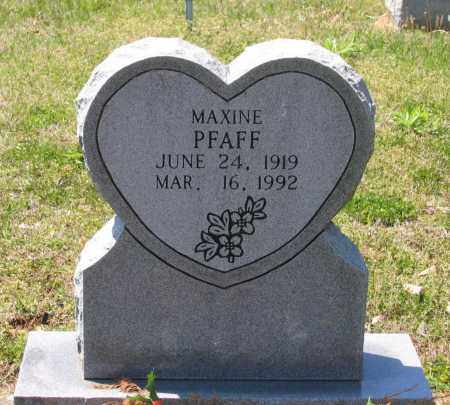 PFAFF, FRANCES MAXINE - Lawrence County, Arkansas | FRANCES MAXINE PFAFF - Arkansas Gravestone Photos