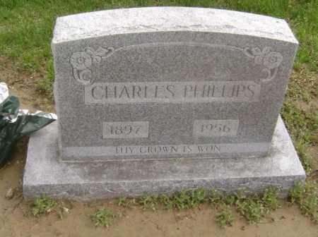 PHILLIPS, CHARLES - Lawrence County, Arkansas | CHARLES PHILLIPS - Arkansas Gravestone Photos