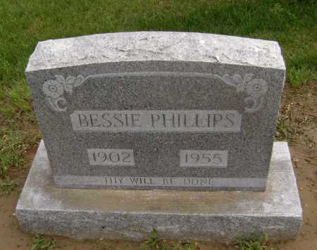 COCHRAN PHILLIPS, BESSIE - Lawrence County, Arkansas | BESSIE COCHRAN PHILLIPS - Arkansas Gravestone Photos
