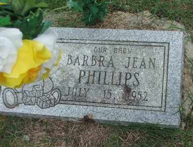 PHILLIPS, BARBRA JEAN - Lawrence County, Arkansas | BARBRA JEAN PHILLIPS - Arkansas Gravestone Photos