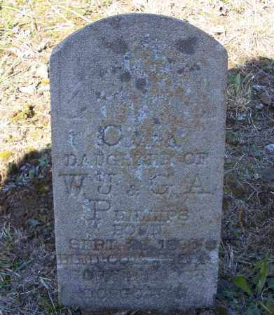 PHILLIPS, CLARA - Lawrence County, Arkansas | CLARA PHILLIPS - Arkansas Gravestone Photos