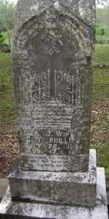 PHILLIPS, ELIZA JANE - Lawrence County, Arkansas | ELIZA JANE PHILLIPS - Arkansas Gravestone Photos