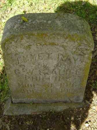 PHILLIPS, EMMET RAY - Lawrence County, Arkansas | EMMET RAY PHILLIPS - Arkansas Gravestone Photos