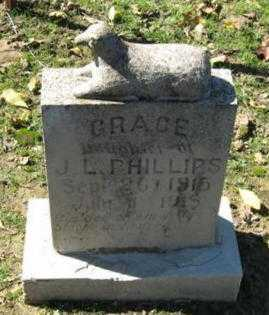 PHILLIPS, EVA GRACE - Lawrence County, Arkansas | EVA GRACE PHILLIPS - Arkansas Gravestone Photos