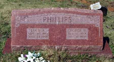WALKER PHILLIPS, LUCY ANN - Lawrence County, Arkansas | LUCY ANN WALKER PHILLIPS - Arkansas Gravestone Photos