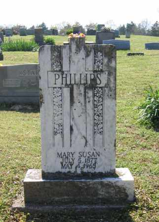 PHILLIPS, MARY SUSAN - Lawrence County, Arkansas | MARY SUSAN PHILLIPS - Arkansas Gravestone Photos