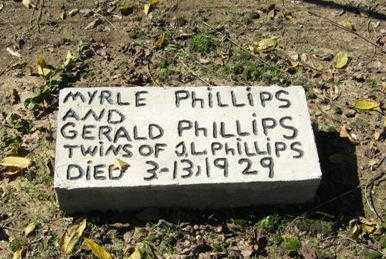 PHILLIPS, MYRLE - Lawrence County, Arkansas | MYRLE PHILLIPS - Arkansas Gravestone Photos
