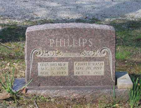 RASH PHILLIPS, CHARLIE E. - Lawrence County, Arkansas | CHARLIE E. RASH PHILLIPS - Arkansas Gravestone Photos