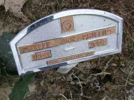 PHILLIPS, PHYLLIS ANN - Lawrence County, Arkansas | PHYLLIS ANN PHILLIPS - Arkansas Gravestone Photos