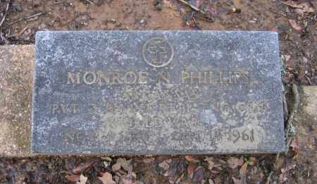 PHILLIPS (VETERAN WWI), MONROE ISAAC NEWTON - Lawrence County, Arkansas | MONROE ISAAC NEWTON PHILLIPS (VETERAN WWI) - Arkansas Gravestone Photos