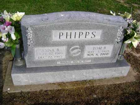 WALLIN PHIPPS, ANNA BELLE - Lawrence County, Arkansas | ANNA BELLE WALLIN PHIPPS - Arkansas Gravestone Photos