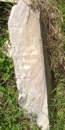 PICKENS, MARTHA J. - Lawrence County, Arkansas   MARTHA J. PICKENS - Arkansas Gravestone Photos