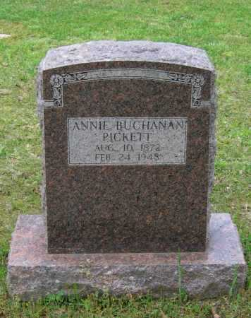 "BUCHANAN PICKETT, ANN ELIZABETH ""ANNIE"" - Lawrence County, Arkansas 