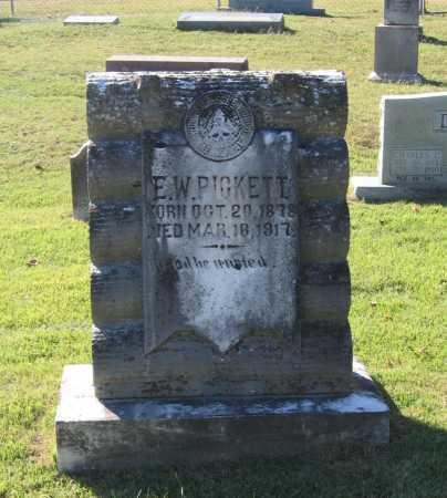 PICKETT, ELMER WHITFIELD - Lawrence County, Arkansas   ELMER WHITFIELD PICKETT - Arkansas Gravestone Photos