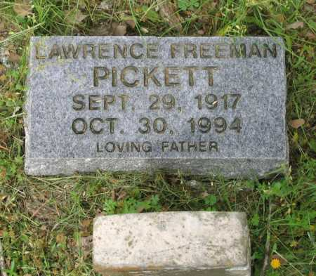 PICKETT, LAWRENCE FREEMAN - Lawrence County, Arkansas | LAWRENCE FREEMAN PICKETT - Arkansas Gravestone Photos
