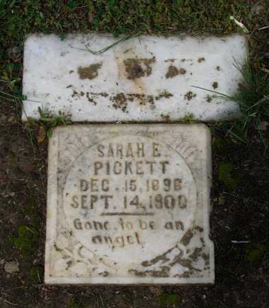 PICKETT, SARAH ELLEN - Lawrence County, Arkansas | SARAH ELLEN PICKETT - Arkansas Gravestone Photos