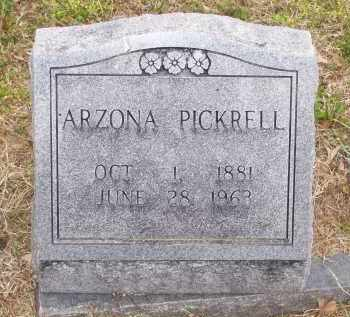 PENN PICKRELL, ARZONA JOSEPHINE ZELDA - Lawrence County, Arkansas | ARZONA JOSEPHINE ZELDA PENN PICKRELL - Arkansas Gravestone Photos