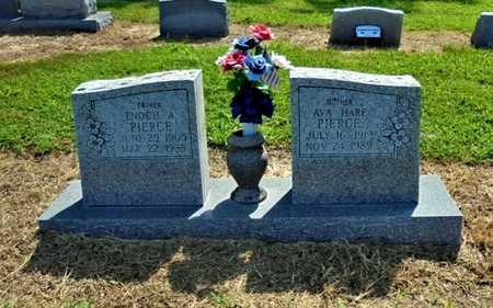 PIERCE, ENOCH A. - Lawrence County, Arkansas | ENOCH A. PIERCE - Arkansas Gravestone Photos
