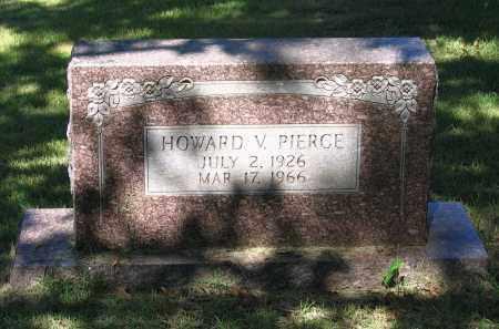 PIERCE, HOWARD V. - Lawrence County, Arkansas | HOWARD V. PIERCE - Arkansas Gravestone Photos
