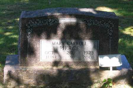 CARROLL PIERCE, MARY - Lawrence County, Arkansas | MARY CARROLL PIERCE - Arkansas Gravestone Photos