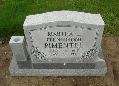 PIMENTEL, MARTHA L. - Lawrence County, Arkansas | MARTHA L. PIMENTEL - Arkansas Gravestone Photos