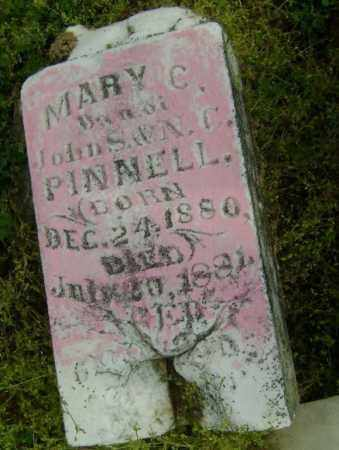 PINNELL, MARY C. - Lawrence County, Arkansas | MARY C. PINNELL - Arkansas Gravestone Photos