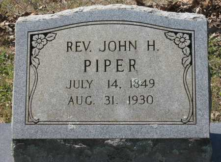 PIPER, REV., JOHN H. - Lawrence County, Arkansas | JOHN H. PIPER, REV. - Arkansas Gravestone Photos