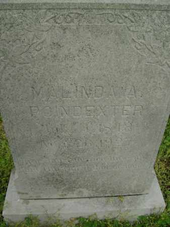 POINDEXTER, MALINDA A. - Lawrence County, Arkansas | MALINDA A. POINDEXTER - Arkansas Gravestone Photos