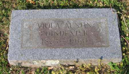 AUSTIN POINDEXTER, VIOLA V. - Lawrence County, Arkansas | VIOLA V. AUSTIN POINDEXTER - Arkansas Gravestone Photos