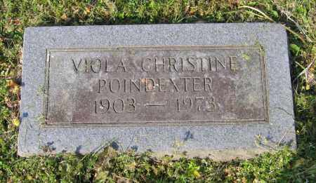 POINDEXTER, VIOLA CHRISTINE - Lawrence County, Arkansas | VIOLA CHRISTINE POINDEXTER - Arkansas Gravestone Photos