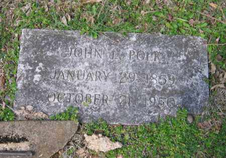 POLK, SR., JOHN L. - Lawrence County, Arkansas | JOHN L. POLK, SR. - Arkansas Gravestone Photos