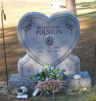 CRAIG POLSTON, BETTY LOUISE - Lawrence County, Arkansas | BETTY LOUISE CRAIG POLSTON - Arkansas Gravestone Photos