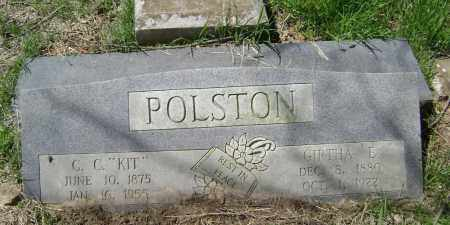 BAKER POLSTON, GIRTHA EVELINE - Lawrence County, Arkansas | GIRTHA EVELINE BAKER POLSTON - Arkansas Gravestone Photos