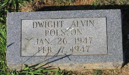 POLSTON, DWIGHT ALVIN - Lawrence County, Arkansas | DWIGHT ALVIN POLSTON - Arkansas Gravestone Photos