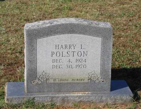 POLSTON, HARRY L. - Lawrence County, Arkansas | HARRY L. POLSTON - Arkansas Gravestone Photos