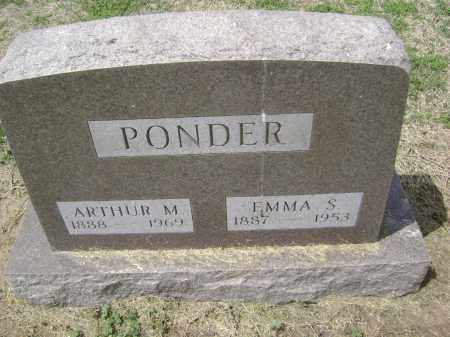 PONDER, EMMA S. - Lawrence County, Arkansas | EMMA S. PONDER - Arkansas Gravestone Photos