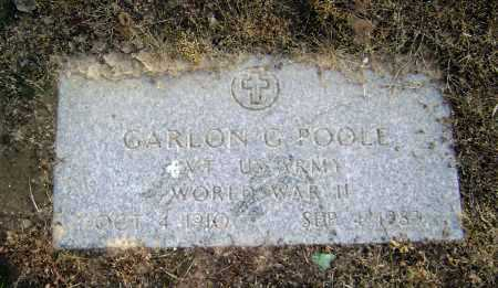 POOLE  (VETERAN WWII), GARLON G. - Lawrence County, Arkansas | GARLON G. POOLE  (VETERAN WWII) - Arkansas Gravestone Photos