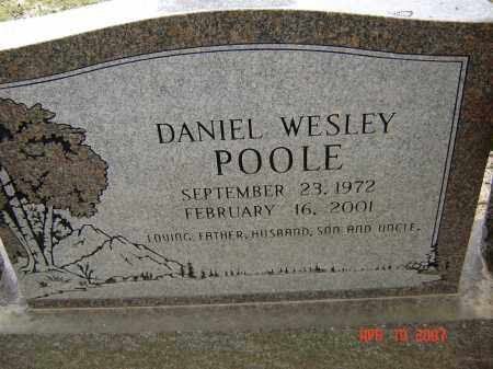 POOLE, DANIEL WESLEY - Lawrence County, Arkansas | DANIEL WESLEY POOLE - Arkansas Gravestone Photos