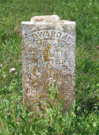 PORTER, EDWARD H. - Lawrence County, Arkansas | EDWARD H. PORTER - Arkansas Gravestone Photos