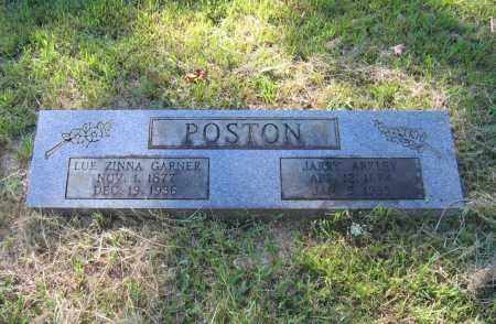 GARNER POSTON, LUE ZINNA - Lawrence County, Arkansas | LUE ZINNA GARNER POSTON - Arkansas Gravestone Photos